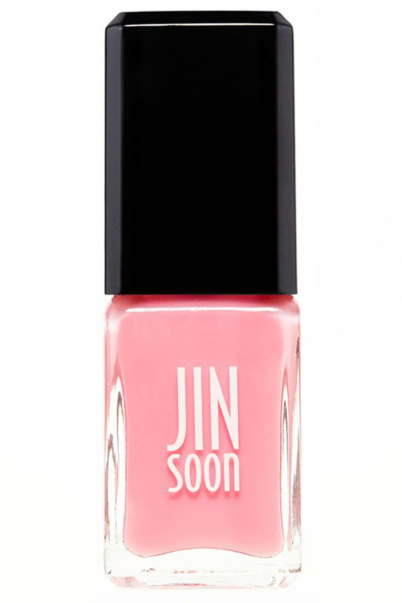"""<p>A sheer, ladylike pink for just a hint of healthy shine (and foolproof application). </p><p><strong>JINsoon</strong> Nail Lacquer in Blush, , <a href=""""http://shop.nordstrom.com/s/jinsoon-nail-lacquer/4387055?origin=category-personalizedsort"""" target=""""_blank"""">nordstrom.com</a>.</p>"""