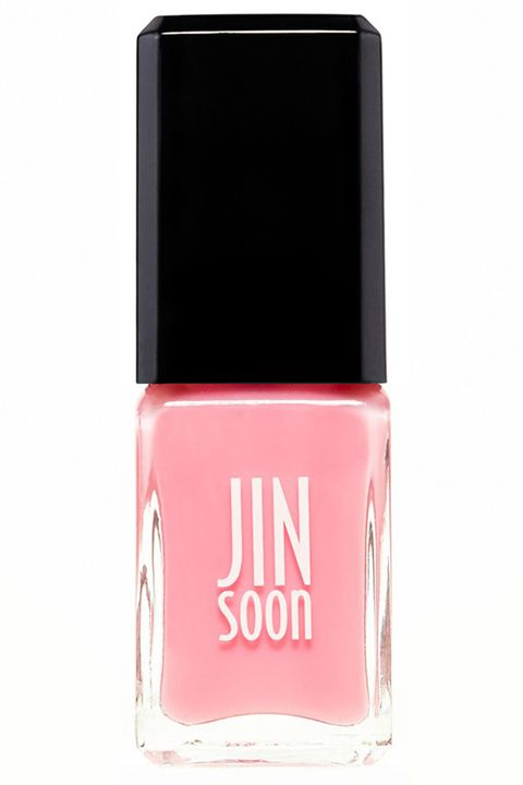 "<p>A sheer, ladylike pink for just a hint of healthy shine (and foolproof application). </p><p><strong>JINsoon</strong> Nail Lacquer in Blush, $18, <a href=""http://shop.nordstrom.com/s/jinsoon-nail-lacquer/4387055?origin=category-personalizedsort"" target=""_blank"">nordstrom.com</a>.</p>"
