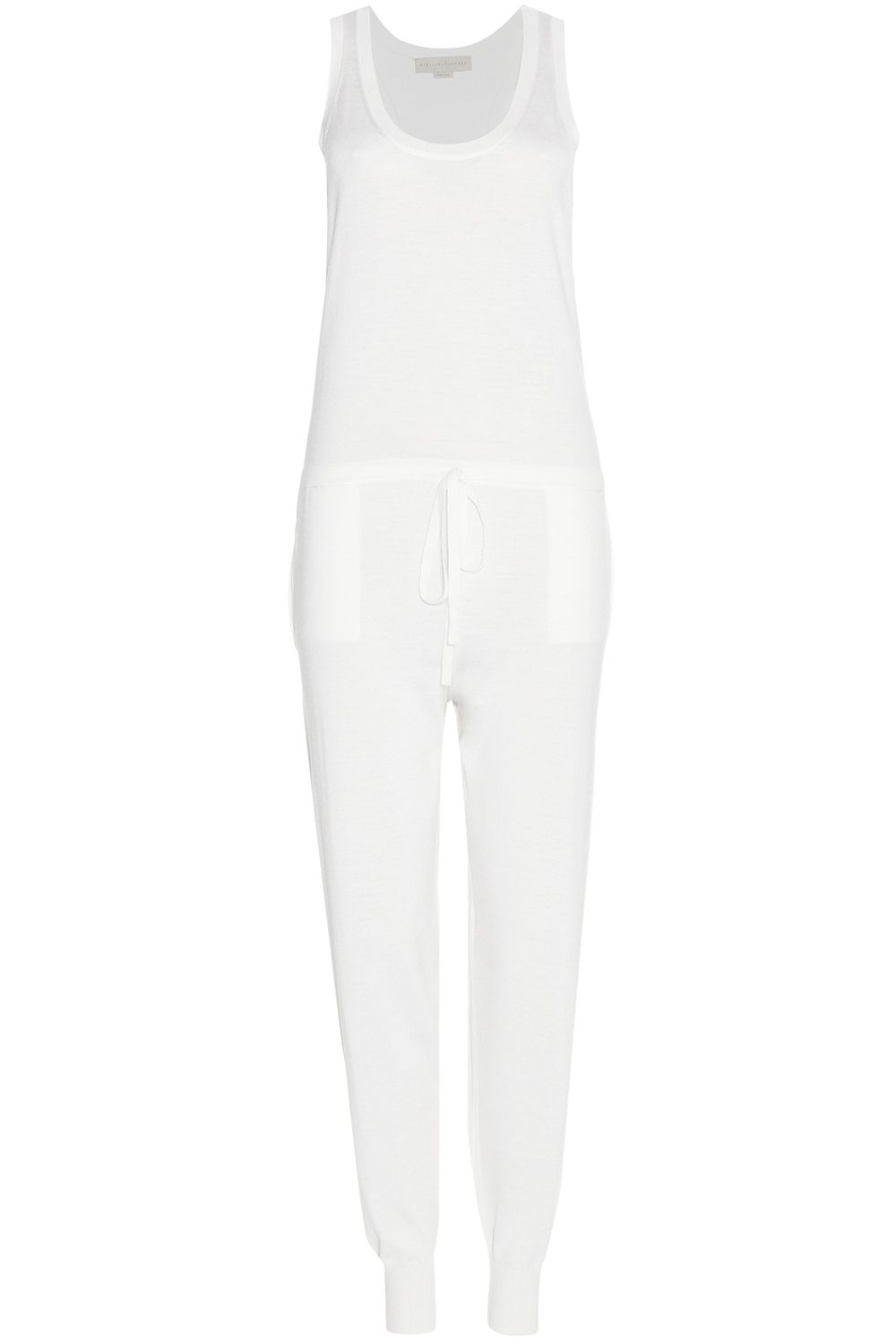 """<p><strong>Stella McCartney</strong> jumpsuit, $1,130, <a href=""""http://www.mytheresa.com/en-us/wool-and-silk-jumpsuit-510245.html?catref=category"""" target=""""_blank"""">mytheresa.com</a>. </p>"""