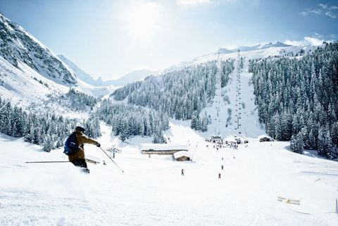 "<p><strong>Where</strong>: <a href=""http://www.lapogeecourchevel.com/eng/home/"" target=""_blank"">L'Apogee Courchevel</a>, Courchevel, France</p><p>Located in one of the world's top skiing destinations, it's only fitting that guests staying at L'Apogee Courchevel—in the celebrated Trois Vallées region—can train with the best. For $2,300 per day, including nightly accommodations, the five-star hotel offers private ski lessons with triple Olympic medalist (and 15-time French Champion) Florence Masnada in partnership with the exclusive Somewhere Club. Each day includes a morning workout, skiing in the Trois Vallées, recovery exercises and a post-ski pow-wow over drinks back at the chalet.</p>"