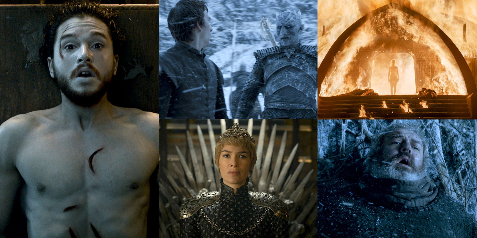 The Most Shocking Moments on Game of Thrones Season 6 -