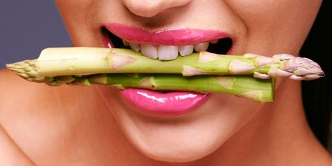Mouth, Lip, Cheek, Skin, Tooth, Food, Jaw, Neck, Produce, Ingredient,