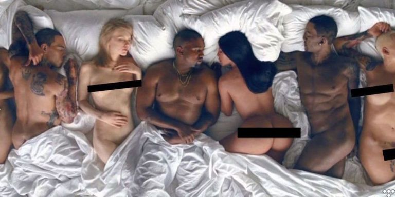 Hopefully You Didn't Buy Tidal, Because You Can Now Watch Kanye's 'Famous' Video Uncensored
