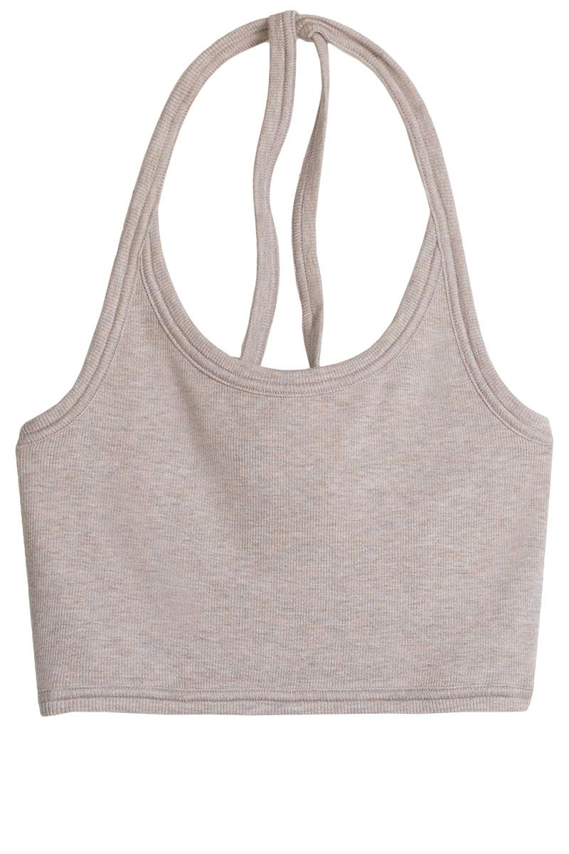 "<p><strong>Wilfred Free</strong> top, $20, <a href=""http://us.aritzia.com/product/greyhorse-halter/59396.html?dwvar_59396_color=10006"" target=""_blank"">aritzia.com</a>. </p>"