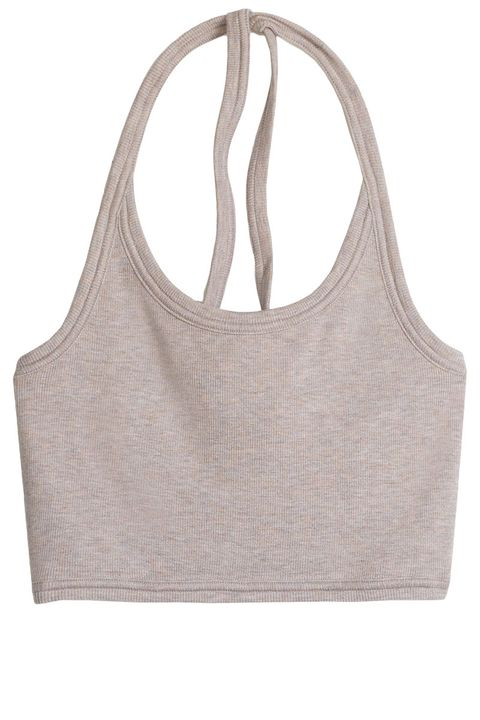 """<p><strong>Wilfred Free</strong> top, $20, <a href=""""http://us.aritzia.com/product/greyhorse-halter/59396.html?dwvar_59396_color=10006"""" target=""""_blank"""">aritzia.com</a>. </p>"""