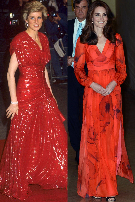 14ddcb2e264 47 Times Kate Middleton Channeled Princess Diana s Style - Kate Middleton  and Princess Diana Matching Outfits
