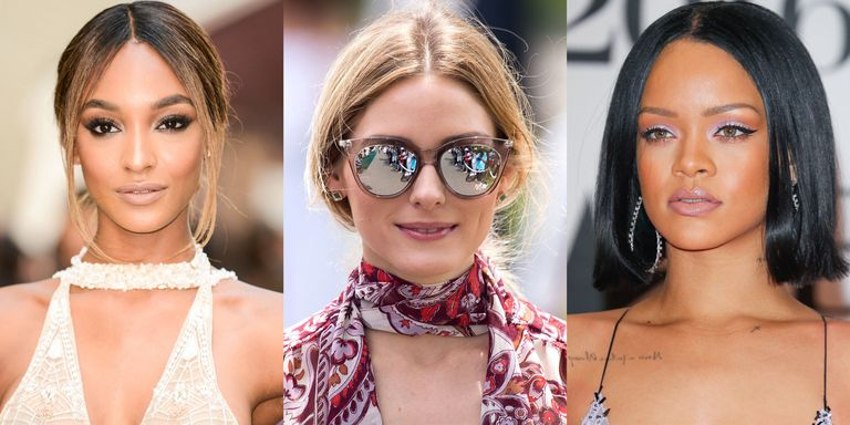 10 Chic Ways to Wear a Middle Part