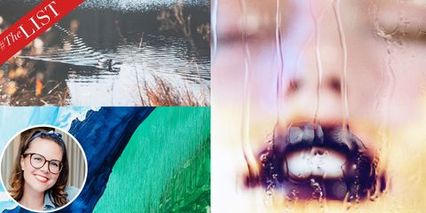 Fluid, Reflection, Collage, Goggles, Photomontage,