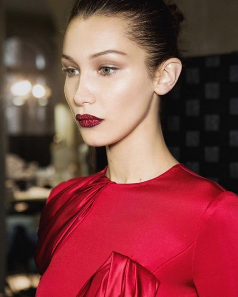 <p>Bella Hadid at Atelier Versace</p>
