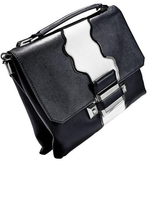 <p><strong>Versace</strong> bag, $3,650, 888-721-7219. </p>
