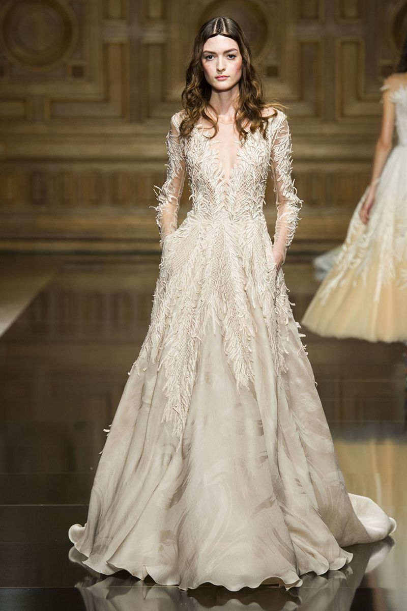 The Best Couture Wedding Gowns from the Fall 2016 Runways The