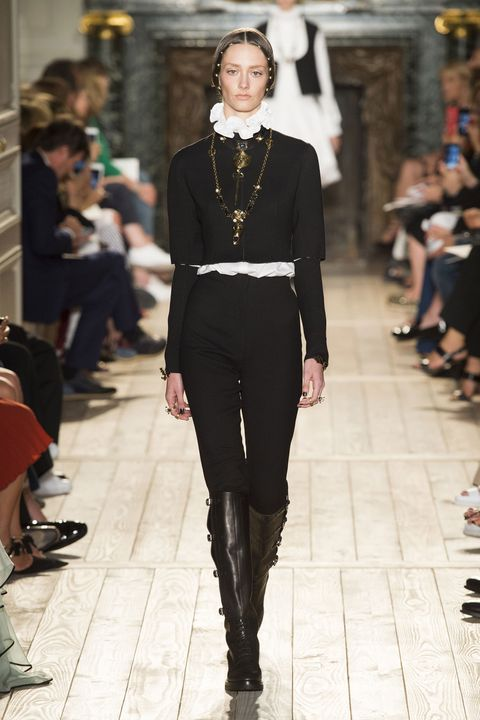 Clothing, Footwear, Leg, Joint, Outerwear, Fashion show, Style, Jewellery, Street fashion, Runway,