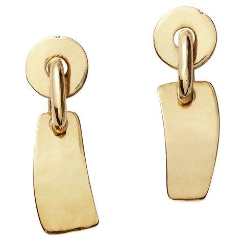 "<p><em>Lizzie Fortunato earrings, $195, <strong><a href=""https://shop.harpersbazaar.com/designers/l/lizzie-fortunato/gold-flag-earrings-9625.html"" target=""_blank"">shopBAZAAR.com</a>. </strong></em></p>"
