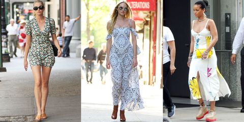 The Summer Standard: Chic Celebs in Sundresses