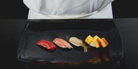 Food, Plate, Ingredient, Dishware, Cuisine, Seafood, Animal product, Cooking, Fish slice, Fish,