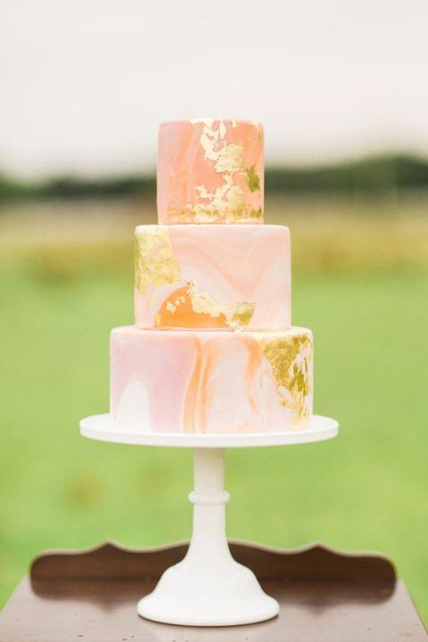 15 Marble Wedding Cakes – Marble Wedding Cake Designs