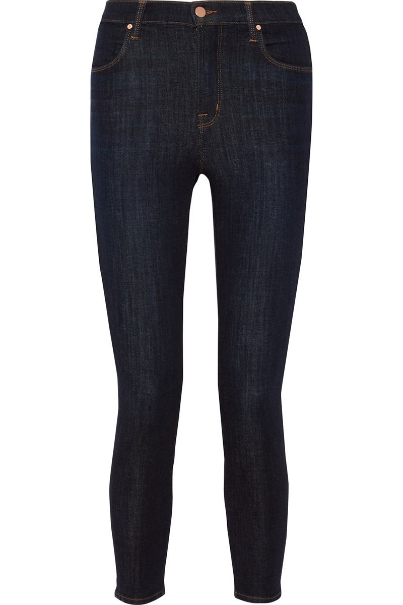 "<p><strong>J Brand</strong> jeans, $230, <a href=""https://www.net-a-porter.com/us/en/product/714524/j_brand/alana-cropped-high-rise-skinny-jeans"" target=""_blank"">netaporter.com</a>. </p>"