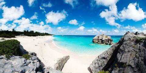 Coastal and oceanic landforms, Cloud, Coast, Rock, Shore, Ocean, Beach, Bedrock, Caribbean, Aqua,