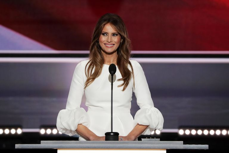 People Are Accusing Melania Trump of Stealing Parts of Her Republican National Convention Speech From Michelle Obama