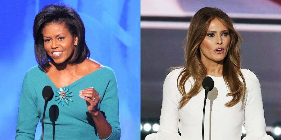 The Response to Melania Trump's Plagiarism Is an Example of White Privilege