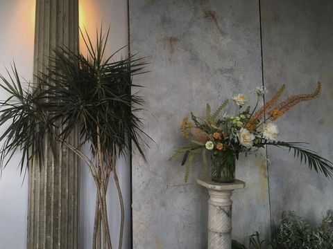 """<p><a href=""""http://saipua.com/"""" target=""""_blank"""">This floral studio</a> may be the one that started it all when it comes to the deconstructed style weddings have been loving as of late. Founder and farmer Sarah Ryhanen isn't afraid of reinventing the wheel, and then reinventing the wheel she reinvented–from mason jars, to palm fronds to peonies–this is the feed to frequent if you want to revive bohemian classics in a bold new way...and see some cute sheep, chickens and live action from her farm in the process.</p>"""