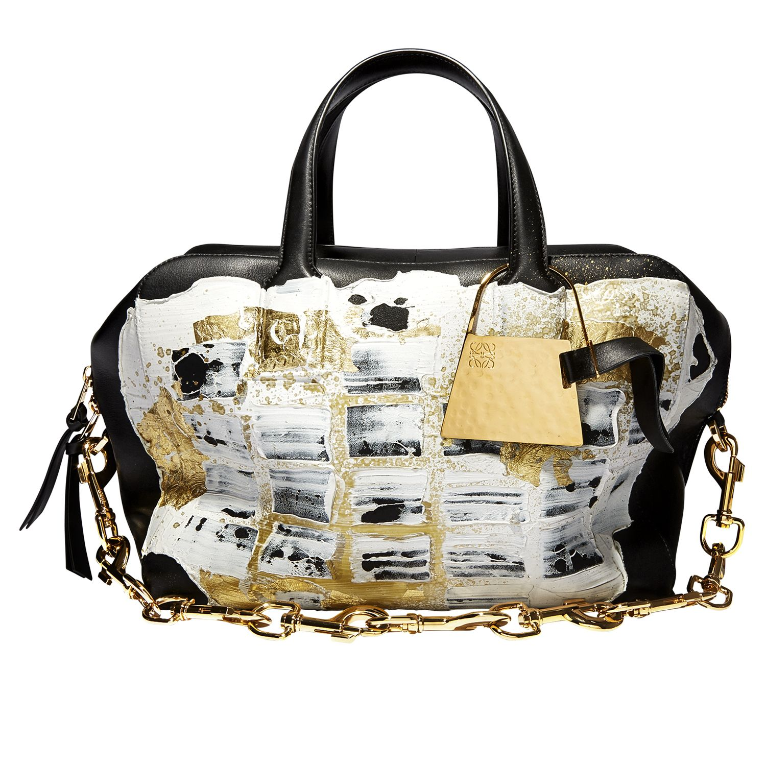 <p><strong>Loewe</strong> bag, $4,390, Barneys New York; 888-8-BARNEYS.</p>