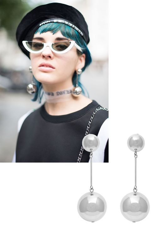 "<p>J.W. Anderson's Fall earring is almost too much fun (almost).<br></p><p><em>J.W. Anderson earrings, $405 (pre-order), <strong><a href=""https://shop.harpersbazaar.com/j/jw-anderson/pearl-drop-earrings-9703.html"" target=""_blank"">shopBAZAAR.com</a></strong>. </em></p>"