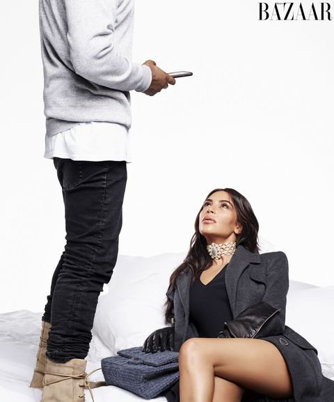 b856211e1a1 Kim Kardashian West and Kanye West Talk About Their Biggest ...