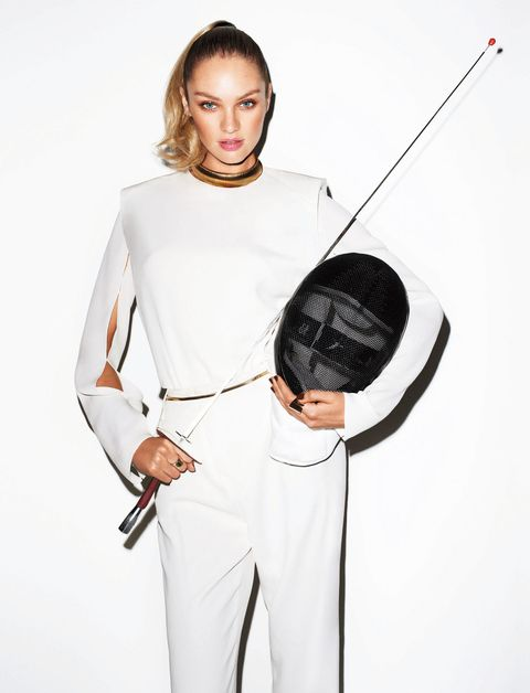 <p>Candice Swanepoel photographed by Terry Richardson, and styled by Brana Wolf, for the February 2012 issue. </p>