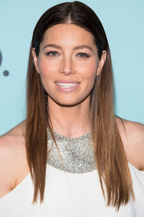 <p>Biel and balayage suit each other well. Lighter tips like this help open up her entire face.</p>