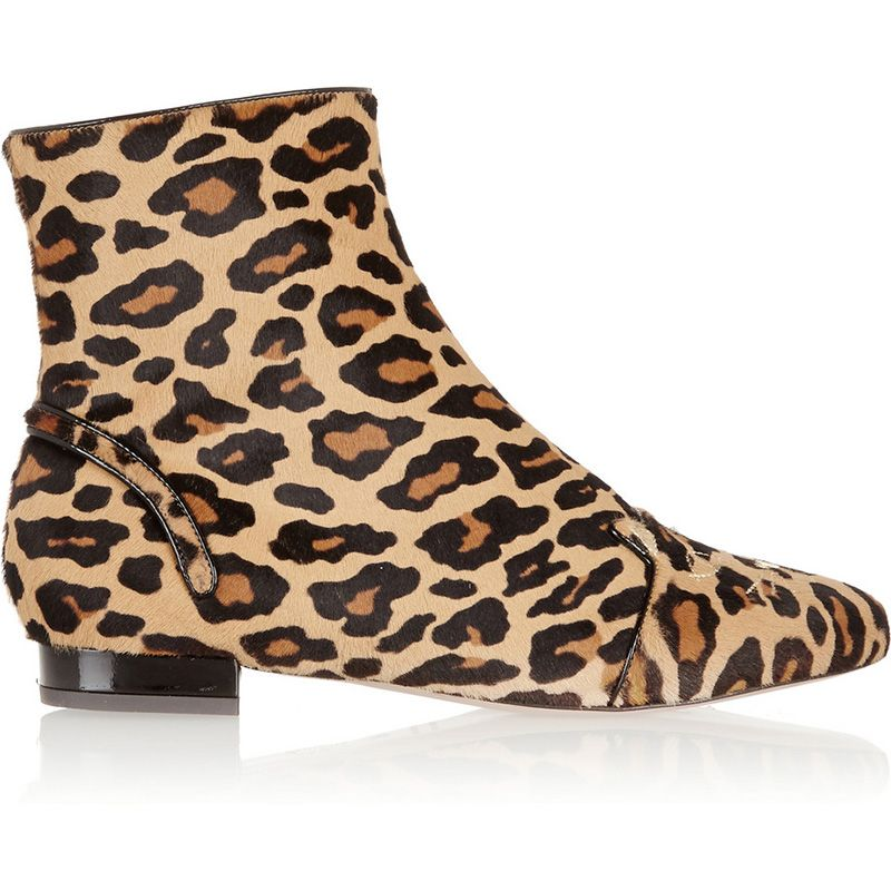 <p>Charlotte Olympia boots, #</p>