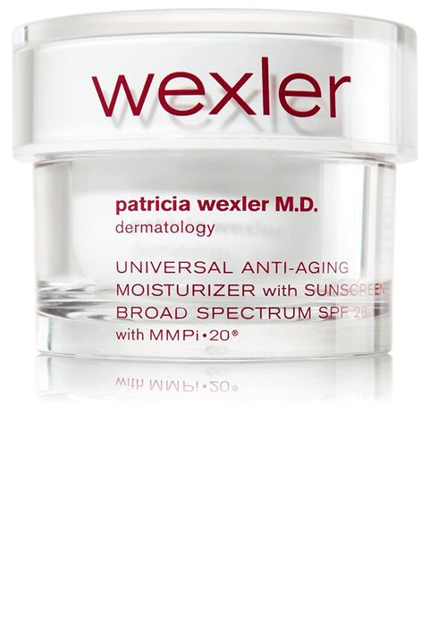 "<p>This moisturizer with SPF is my daily must have! Everyone thinks of rain when they think of London, but the sun is actually quite strong behind those clouds.</p><p><br></p><p><em>Patricia Wexler Moisturizer, $39.50, <strong><a href=""http://www.bathandbodyworks.com/product/index.jsp?productId=21804416&cm_mmc=GooglePLA-_-Paid%2520Search-_-Shopping%2520-%2520Low%2520-%2520Performance%2520Brands_Wexler-_-_&network=g&device=c&creative=105516914293&matchtype=&adpos=1o2&gclid=Cj0KEQjwt-G8BRDktsvwpPTn1PkBEiQA-MRsBXM5X2sSN0iFTz96K2zxKOZ2c9ICJOFQ439bSsiYcFcaAtg18P8HAQ"" target=""_blank"">bathandbodyworks.com</a></strong></em></p>"