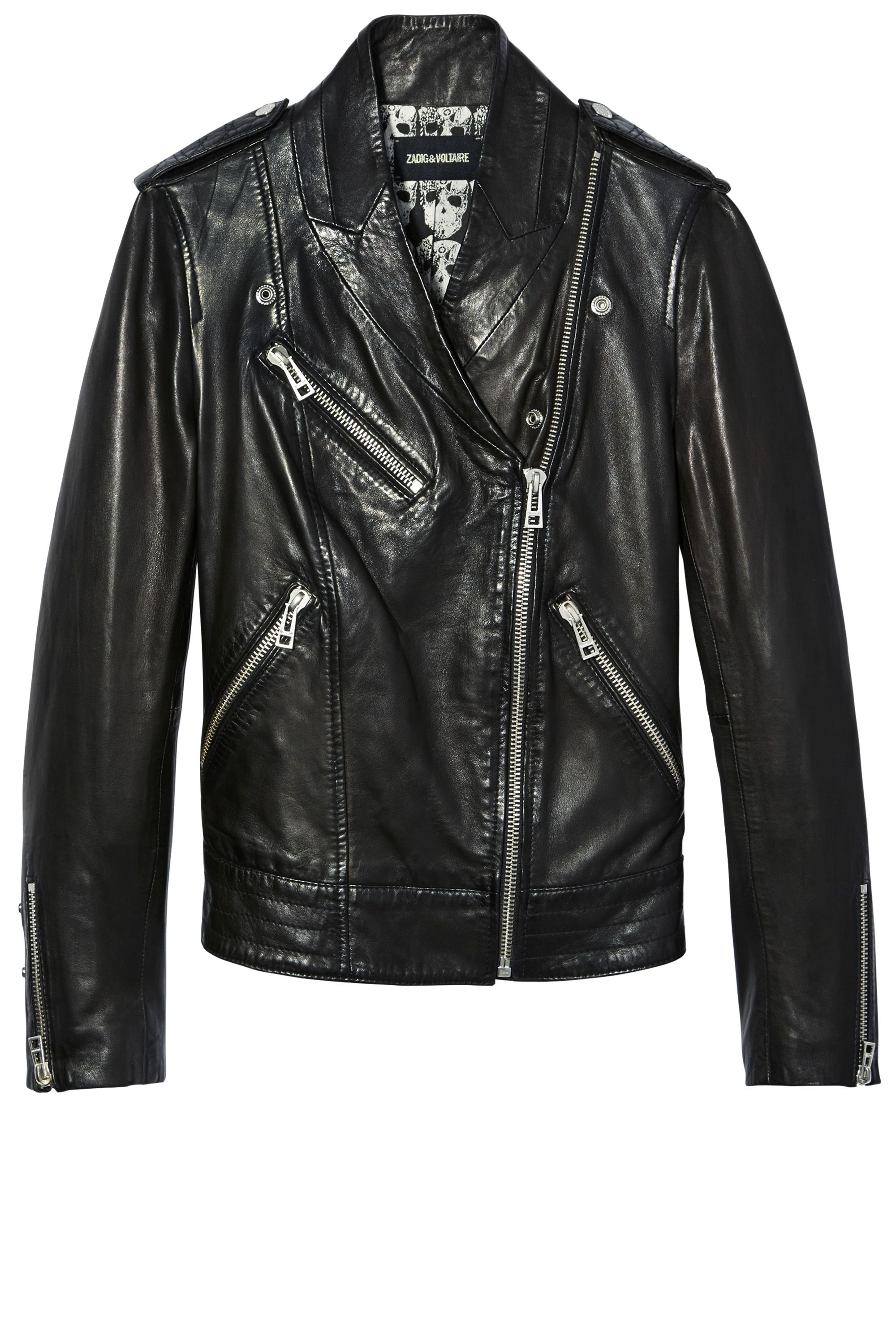 "<p><strong>Zadig & Voltaire</strong> jacket, $798,  <a href=""http://www.zadig-et-voltaire.com/"" target=""_blank"">zadig-et-voltaire.com</a>.</p>"