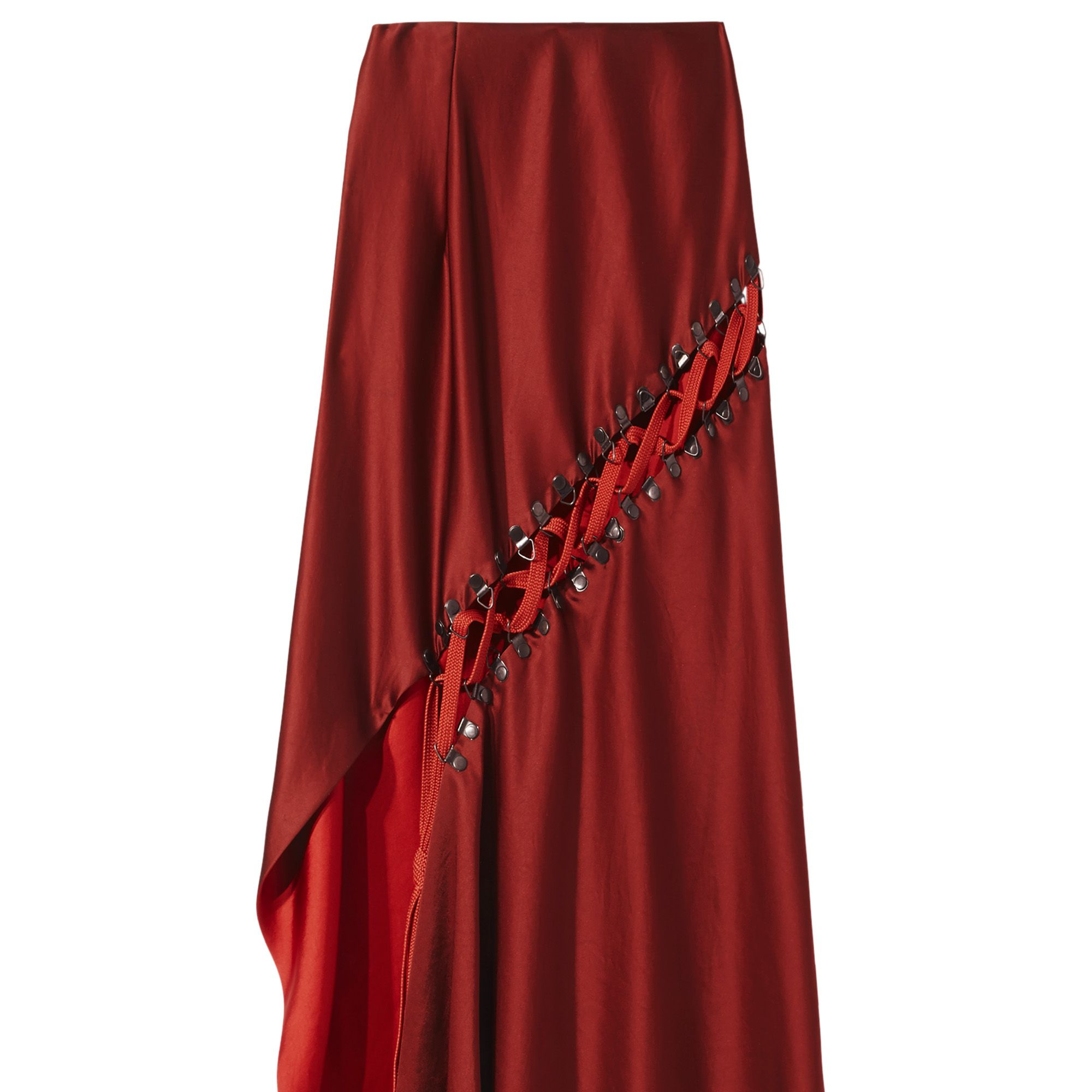 <p><strong>DKNY </strong>skirt, $598, 800-231-0884.</p>