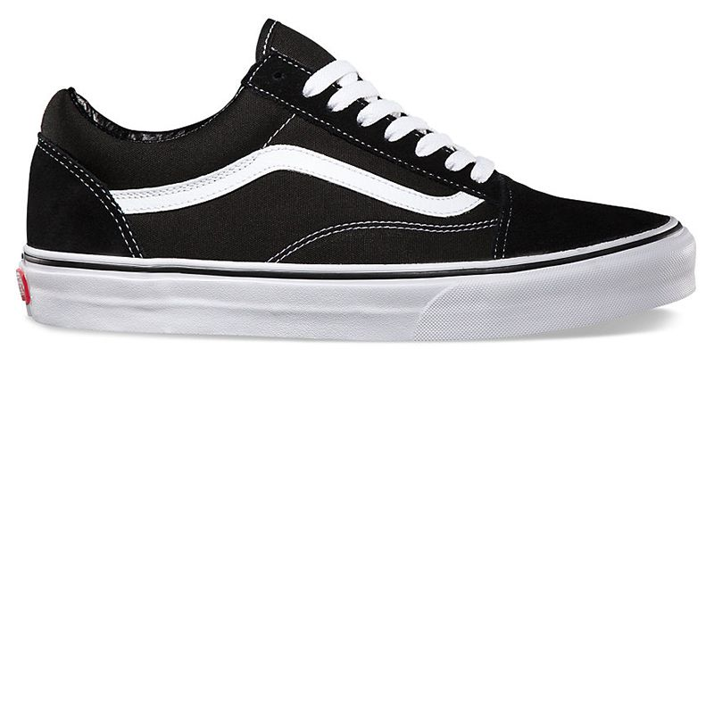 "<p><strong>Vans</strong> Old Skool sneakers, $60, <a href=""http://www.vans.com/shop/suede-canvas-old-skool-black-white?cm_mmc=LinkShare-_-Affiliate-_-TnL5HPStwNw-_-321433&utm_source=linkshare&utm_medium=affiliate&utm_campaign=TnL5HPStwNw&ranMID=24747&ranEAID=TnL5HPStwNw&ranLinkID=10-1&ranSiteID=TnL5HPStwNw-Pb36Czh2IWDgT1xMM07mDw"" target=""_blank"">vans.com</a>. </p>"