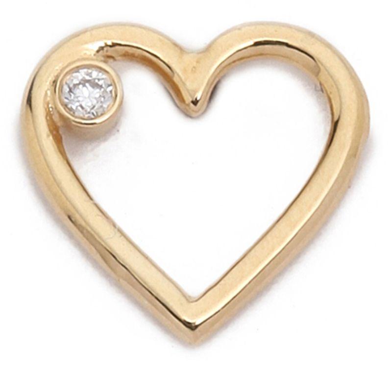 "<p><strong>Aurélie Bidermann </strong>earring, $400, <a href=""https://www.shopbop.com/diamond-love-earring-aurelie-bidermann/vp/v=1/1541275246.htm?folderID=2534374302060430&fm=other-viewall&os=false&colorId=11739"" target=""_blank"">shopbop.com</a>. </p>"