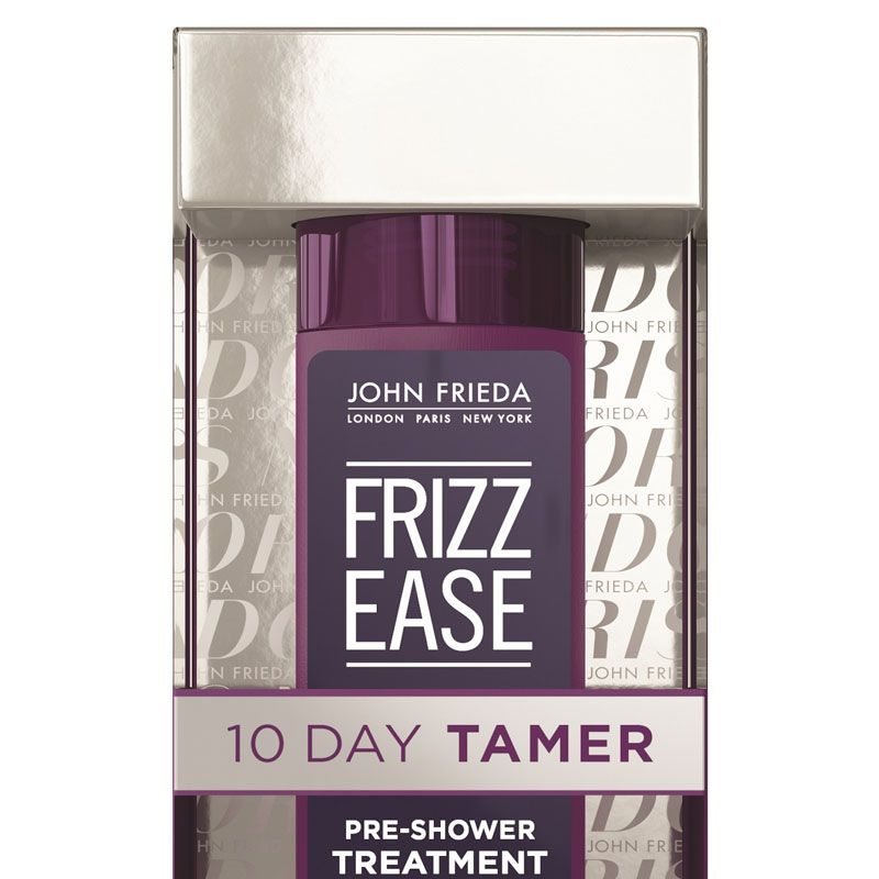 """<p>If you're a loyal Frizz Ease fan girl, you'll want to listen up. Drench dry hair with this pearly gel, let it sit for ten minutes before rinsing, then enjoy smooth, unfussy strands for more than a week. It's like a keratin, only quicker and cheaper.</p><p><strong>John Frieda</strong> Frizz Ease 10-Day Tamer, $13, <a href=""""http://www.ulta.com/frizz-ease-10-day-tamer?productId=xlsImpprod14431309&sku=2303414"""" target=""""_blank"""">ulta.com</a>.</p>"""