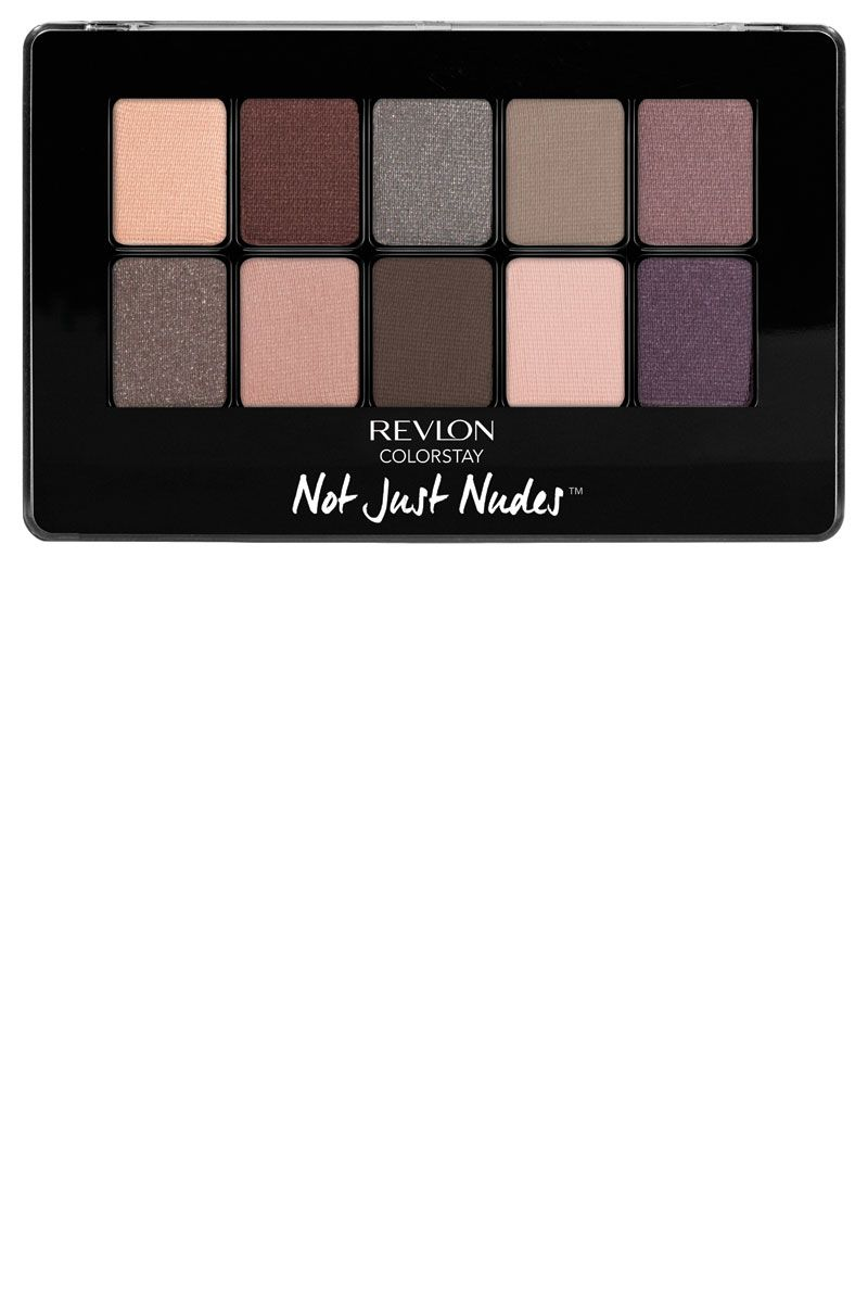 "<p>What's cool about this selection is that it's not actually nudes like you might know them. Instead, it's a mix of matte and shimmer shadows in surprising neutrals (a cashmere mauve, a subdued eggplant, a perfect pewter) to up your eye game without getting too edgy.</p><p><strong>Revlon </strong>ColorStay Not Just Nudes Shadow Palette in Romantic Nudes, $15, <a href=""http://www.ulta.com/colorstay-not-just-nudes-palette?productId=xlsImpprod13361779#"" target=""_blank"">ulta.com</a>.</p>"