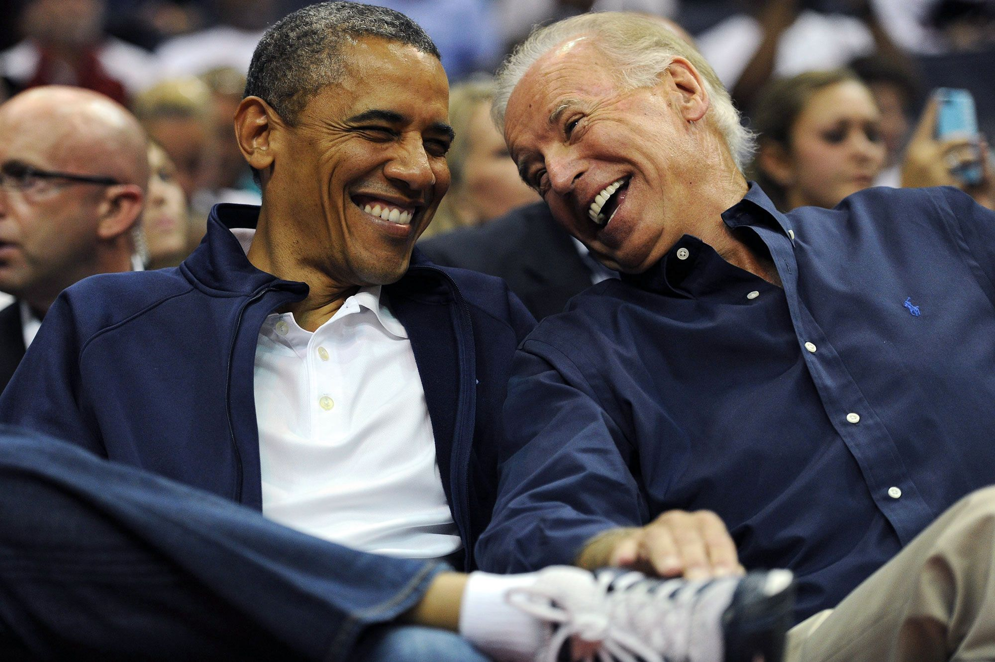 President Obama and Joe Biden's Bromance in 24 Photos