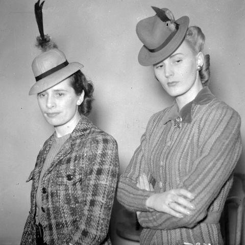 <p>Fact: miniature hats flatter very few heads. </p>