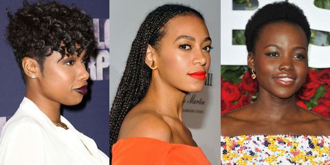 The Prettiest Natural Hairstyles