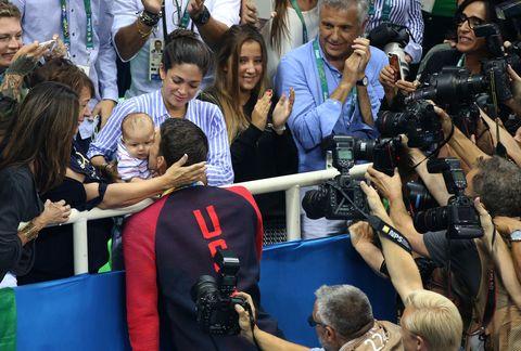Nicole Johnson, Boomer Phelps, Michael Phelps, Debbie Phelps