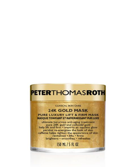 "<p>Rehab sun-soaked summer hair with a weekly hair treatment to help soften and repair in minutes. Because nothing says 'healthy hair' like shiny, strong strands—and to have luxe hair, you <em>need</em> a luxe hair mask.</p><p><em>Peter Thomas Roth 24K Gold Pure Luxury Age-Defying Hair Mask, $75, <a href=""https://www.peterthomasroth.com/Product/24K%20Gold/24K%20GOLD%20PURE%20LUXURY%20AGE-DEFYING%20HAIR%20MASK%20and%20BONNET%20SYSTEM/4101009/each"" target=""_blank"">peterthomasroth.com</a> </em><em></em></p>"