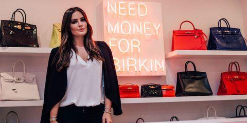 defbc4f9bcd4 Kris Jenner Birkin Closet - Kris Jenner Neon Sign