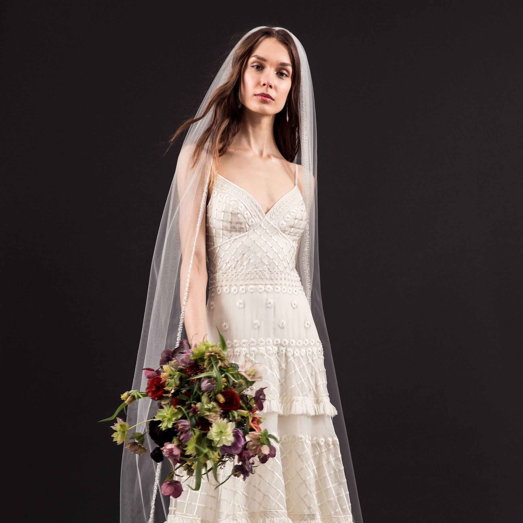 """<p>""""Josephine"""" gown, $7,790. <strong></strong><a href=""""http://rams.harpersbazaar.com/temperleylondon.com"""" target=""""_blank"""">temperleylondon.com</a>.</p>"""