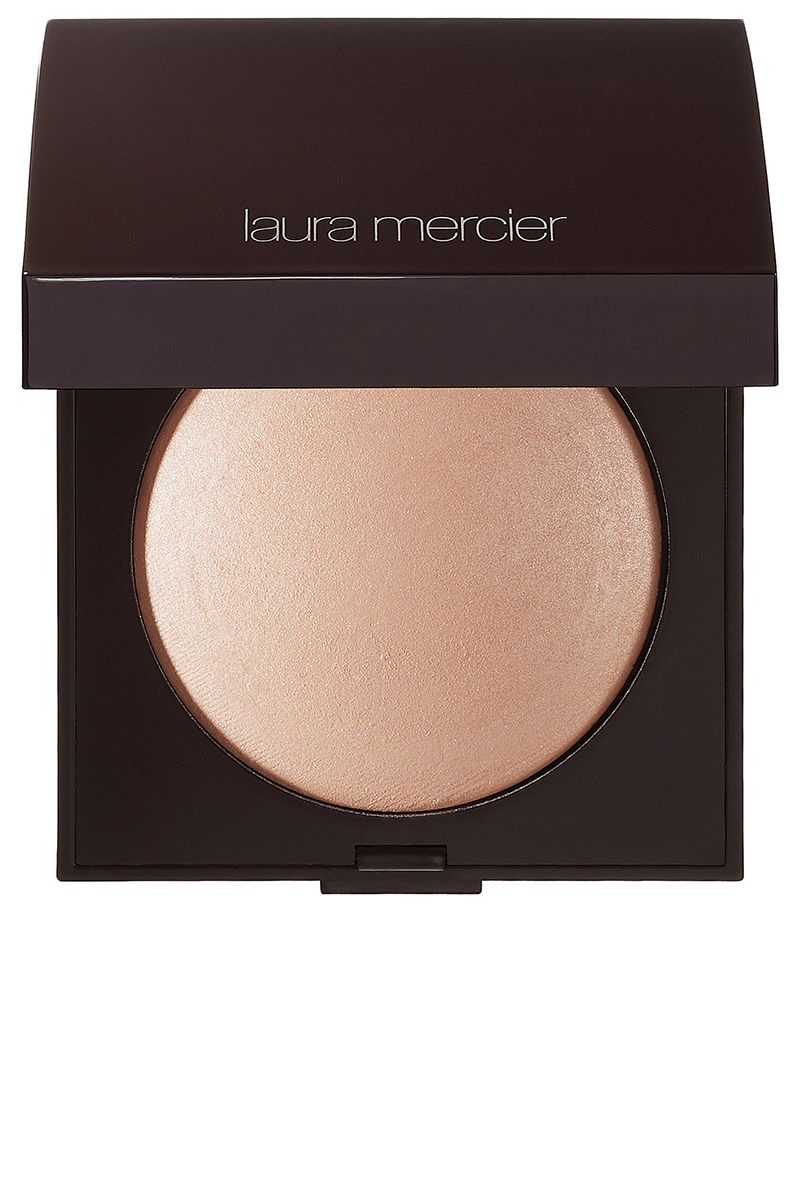 """<p><strong>Her Tip:  </strong>""""This sheer, buildable pressed powder gives the skin a natural luminosity, making it literally look lit from within.  You can use it as an allover powder or build it up for a more strobed effect around the cheekbones.  For an all-over glow I use a big fat round brush; to apply it as a highlighter on and above the cheekbones, I use a smaller, more densely bristled brush.""""—Jenn Streicher (<a href=""""https://www.instagram.com/jennstreicher/"""">@jennstreicher</a>)</p><p><strong>Her Pick: Laura Mercier</strong> Matte Radiance Baked Powder Compact, $40, <a href=""""https://urldefense.proofpoint.com/v2/url?u=http-3A__www.sephora.com_matte"""" target=""""_blank"""">sephora.com</a>.<br></p><p><br></p>"""