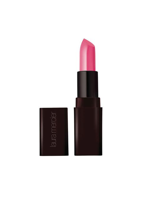 "<p>""This is a perfect shade for me because it's really close to my natural lip color, plus it helps enhance an everyday outfit.""</p><p>Laura Mercier Creme Smooth Lip Color in Pink Pout. $28, <a href=""https://www.lauramercier.com/lipstick/crème-smooth-lip-colour-prod730008.html"" target=""_blank"">lauramercier.com</a></p>"