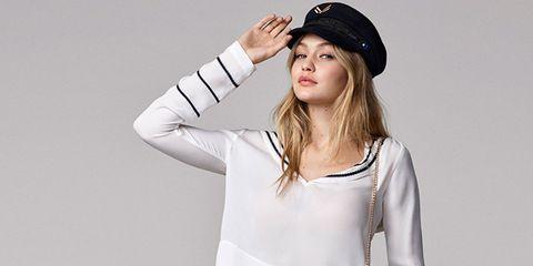 Lip, Sleeve, Shoulder, Joint, White, Cap, Elbow, Style, Headgear, Fashion,