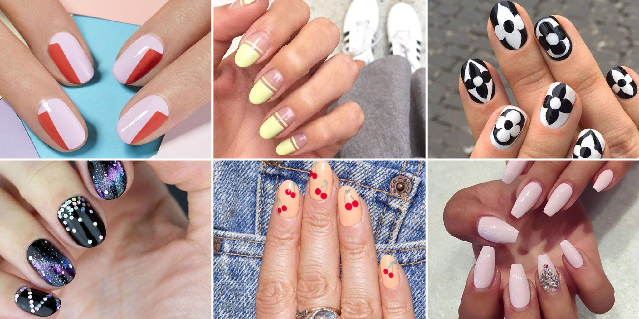 Long nails hand job our nails