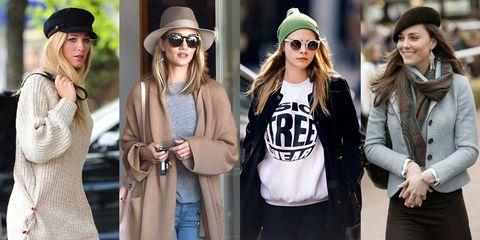 0a6eebafc73 Celebrity Fall Hats - Best Fall Hats
